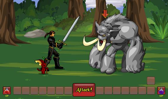 combattimento a turni rpg fantasy