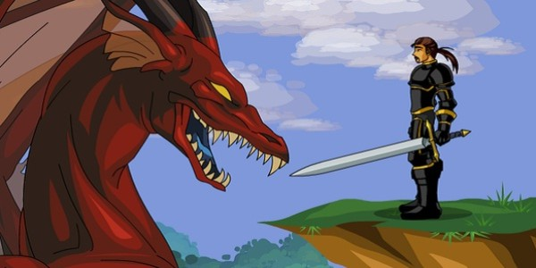 Dragon Fable: browser game rpg fantasy