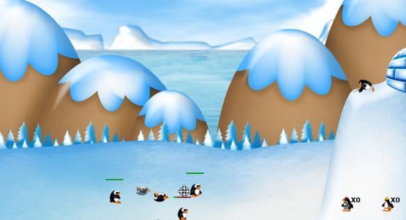 game penguin war