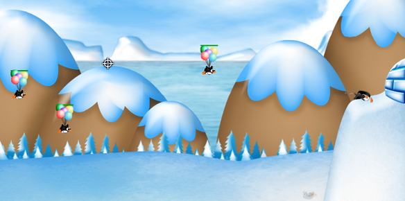 Browser game guerra pinguini