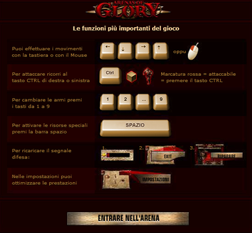 controlli arenas of glory