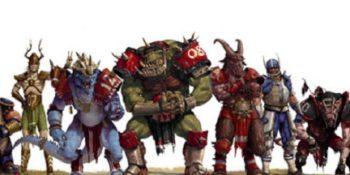 elenco razze fantasy esistenti