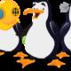 Pinguino contadino: coltiva il polo e sfama i pinguini
