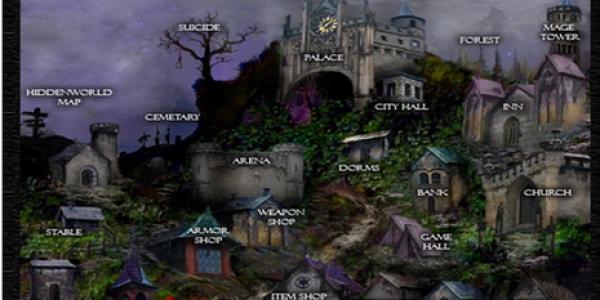 HiddenWorld: gioco gdr fantasy con elfi, mezzelfi e fate