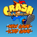 Browser game Crash Bandicoot online gratis