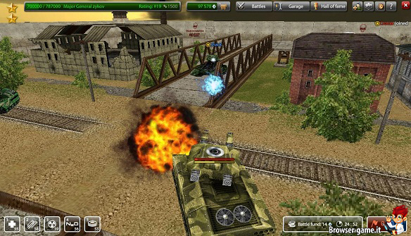 Tanki Online gameplay