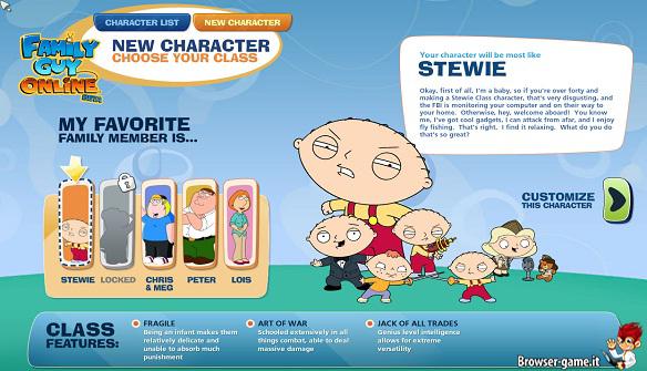 Recensione Family Guy Online