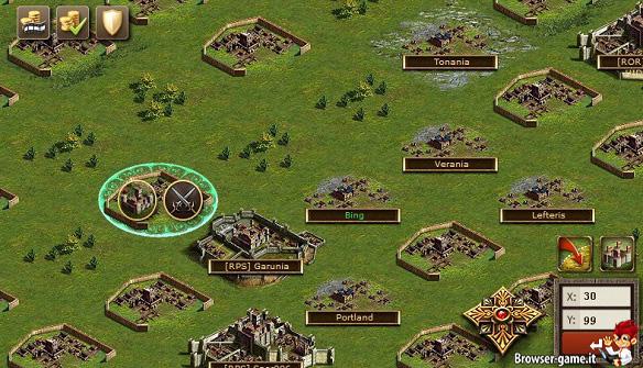 mappa Dark Age Wars