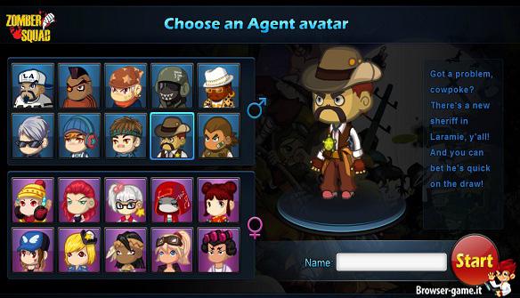Personaggi Zomber Squad