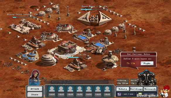 Base Mars Frontier