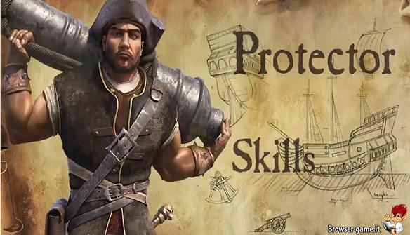 Protector skills Kartuga
