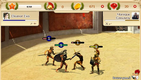 combattimento gladiators