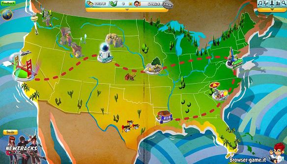 mappa gioco bands