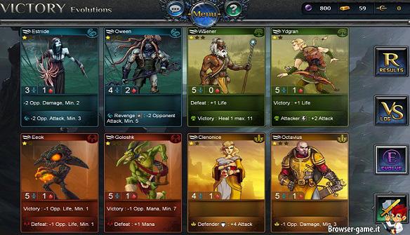 carte fantasy rivals
