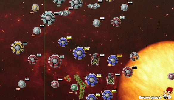 spazio Battle Dawn Galaxies
