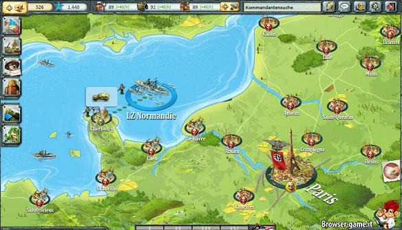 Warstory Europe mappa