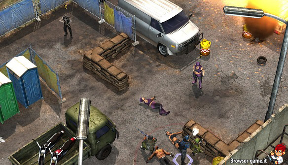combattimento Jagged Alliance Online