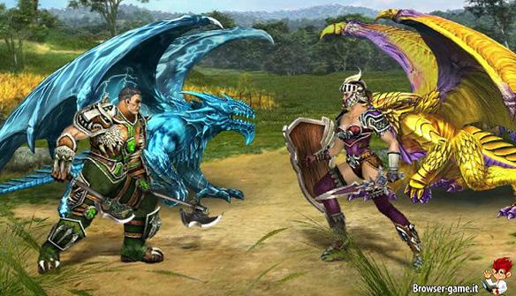 Dragon Eternity draghi combattimento