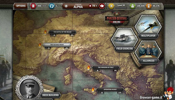Italia Panzer General Online