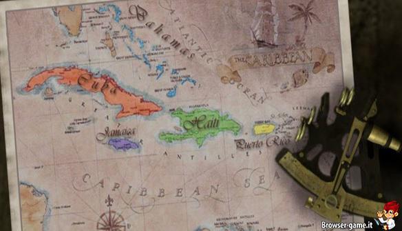 mappa Pirates 1709