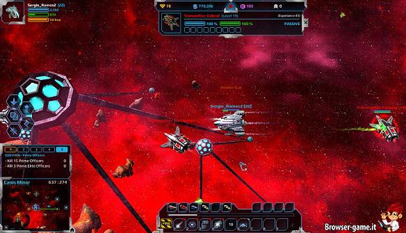 navicelle spaziali Andromeda 5