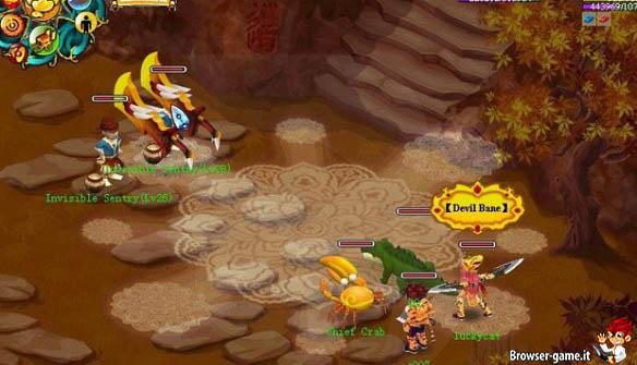 Combattimento Neverland Online