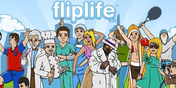 Fliplife: una simulazione completa di vita virtuale