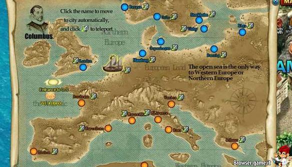 Mappa Grand Voyage