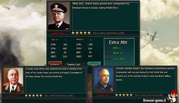 Ufficiali General War Memories