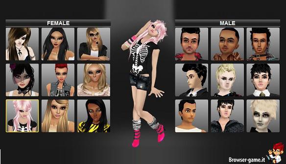 Personaggi IMVU