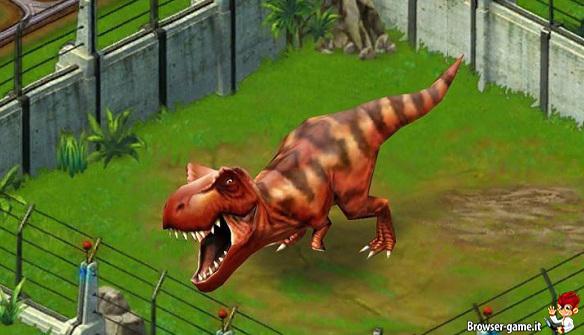Tirannosauro Jurassic Park Builder