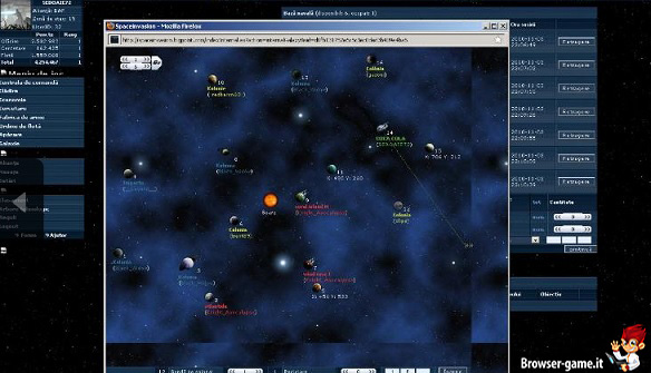 interfaccia Space Invasion