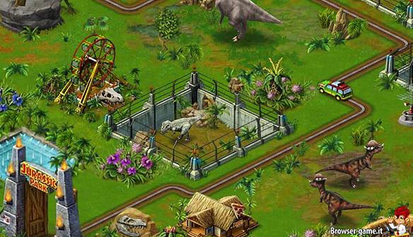 parco Jurassic Park Builder