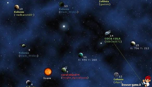 pianeti Space Invasion