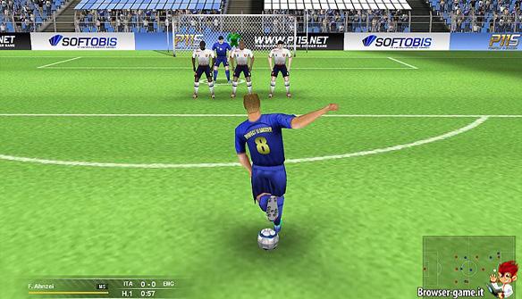 calcio di punizione Perfect 11 Soccer