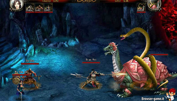 Combattimento Lord of Three Kingdoms
