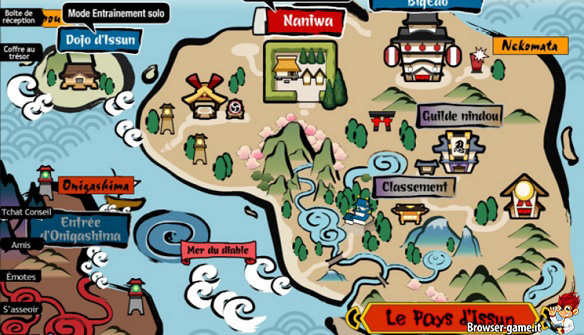 Mappa Nindou