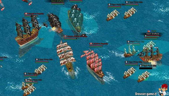 Navi pirata Seven Seas Saga
