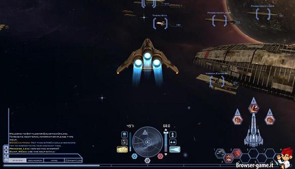 Navicella Battlestar Galactica