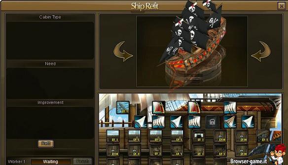 personalizzazione Nave Seven Seas Saga