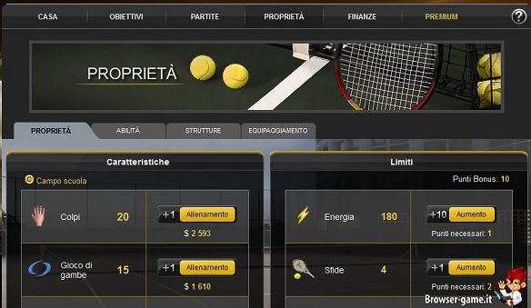 Allenamento Tennis Duel