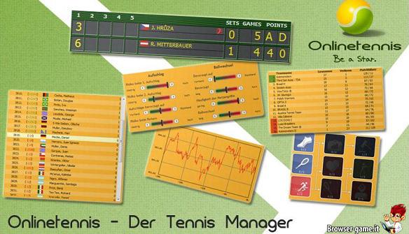 Anteprima Online Tennis