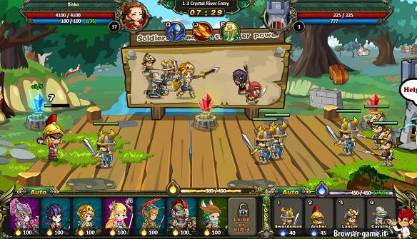 Combattimento Pockie Kingdom