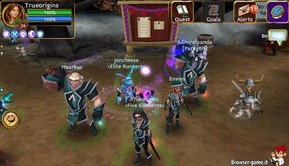 Classi personaggi Arcane Legends