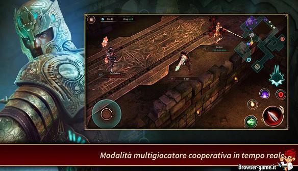 Combattimento multigiocatore in Lightbringers