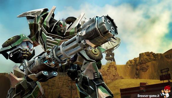 Mitragliere Transformers Universe