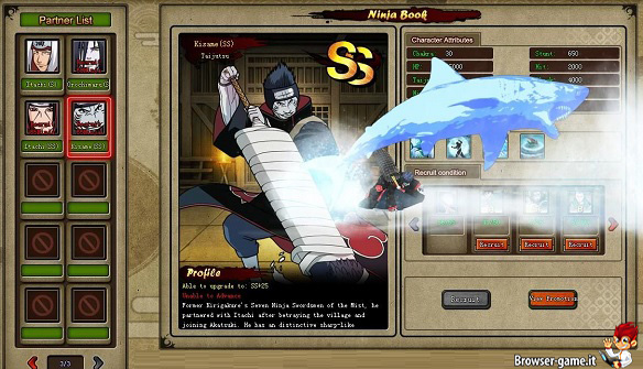 Ninja book Naruto Spirit