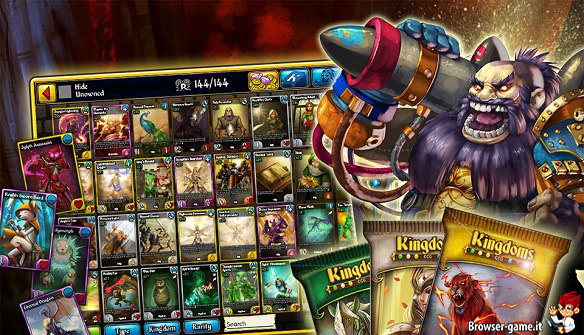 carte di gioco Kingdoms CCG
