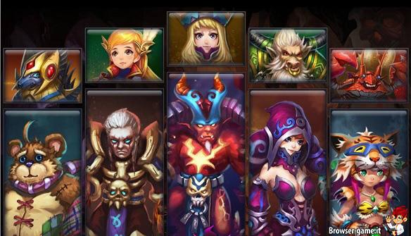 personaggi Inferno Legend