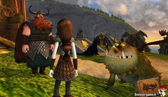 vichingo e drago School of Dragons